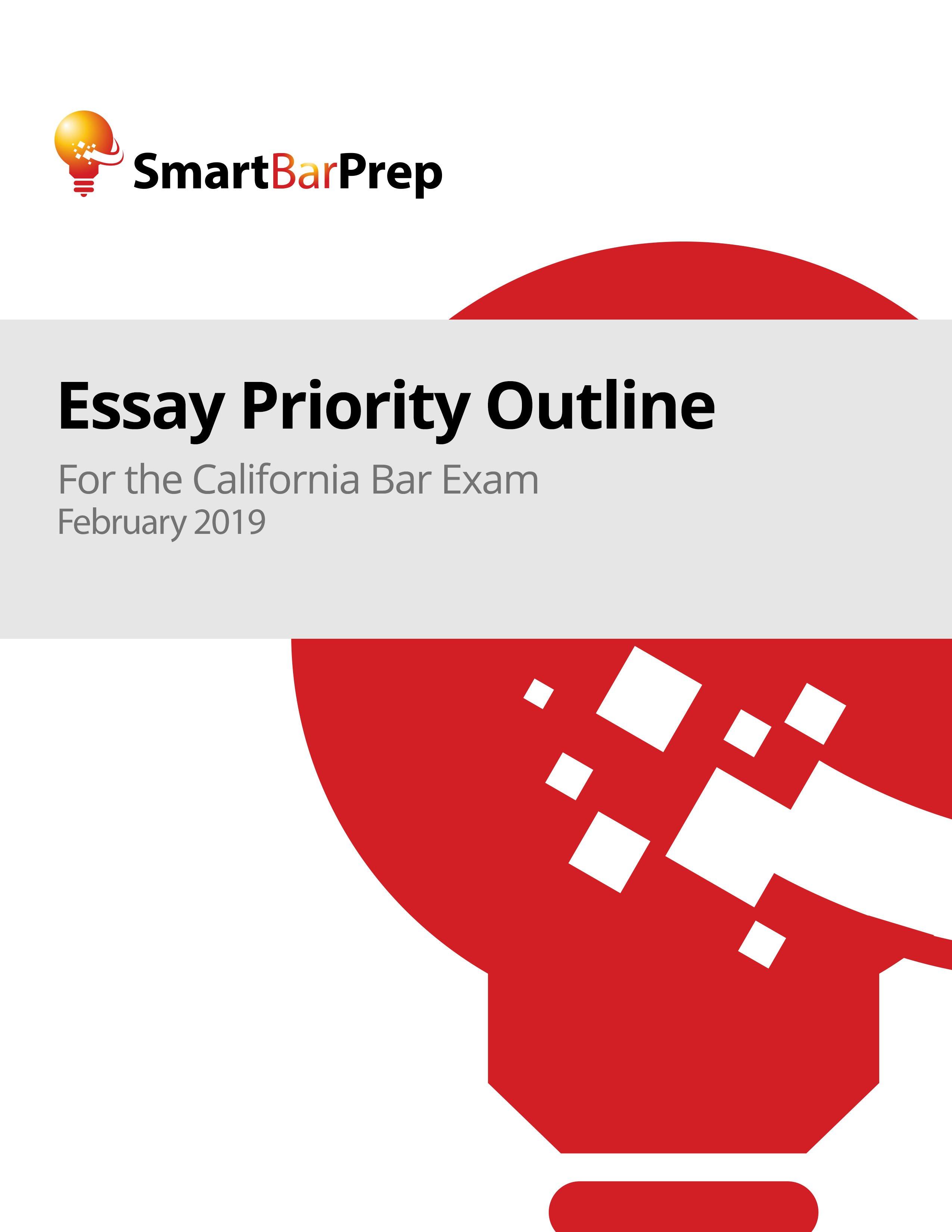 Ca Bar Exam Essay Outlines - California Bar Exam: Online