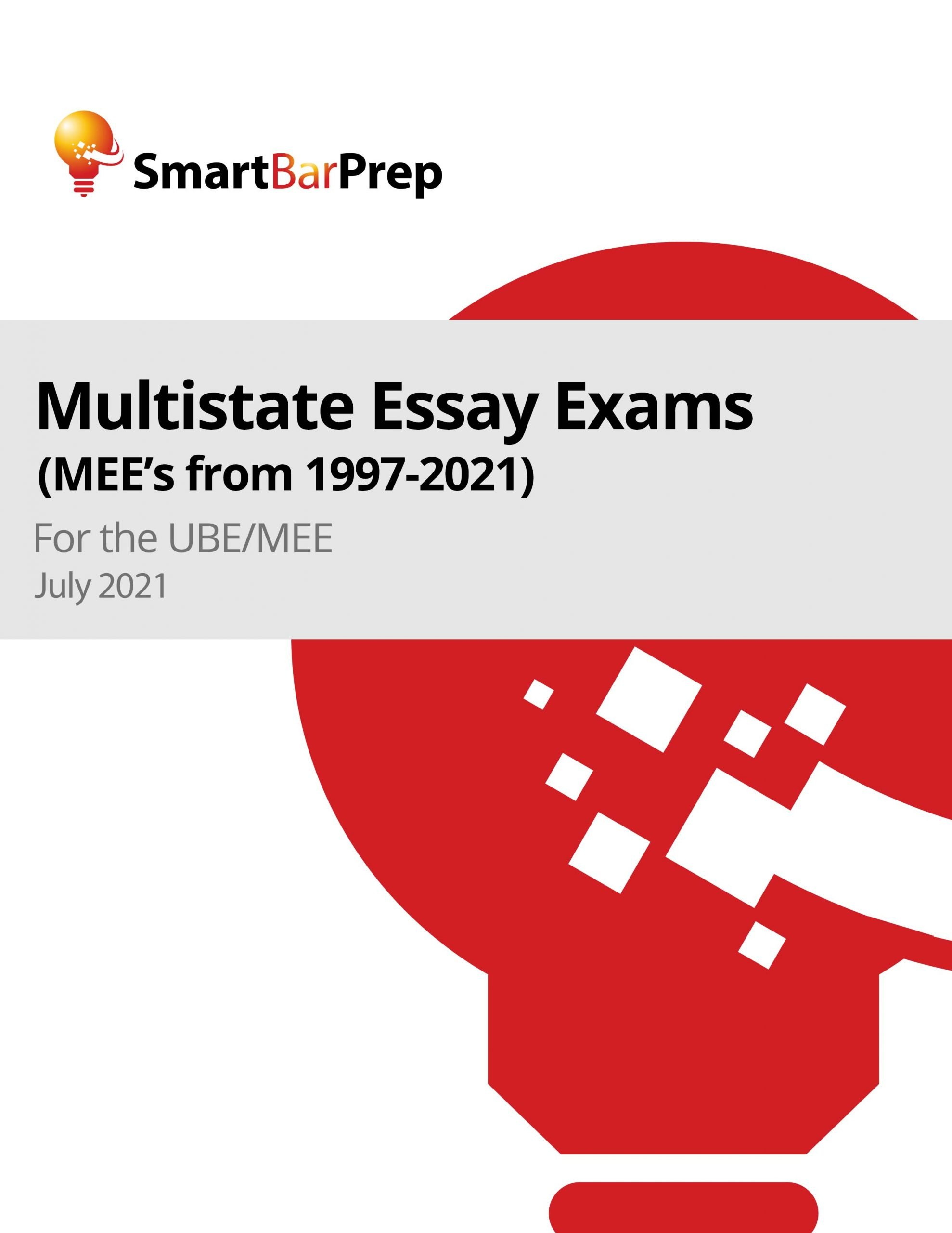 Past MEE Exams cover